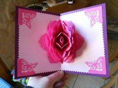 kirigami rose