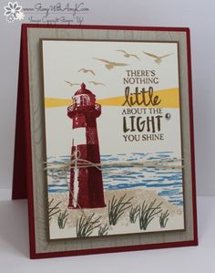 Stampin' Up! High Tide for the Inkin' Krew Card Swap – Stamp With Amy K