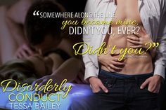 Disorderly Conduct (Academy by Tessa Bailey Along The Lines, Romance Novels, Teaser, Books To Read, Reading, Movies, Movie Posters, Films, Film Poster