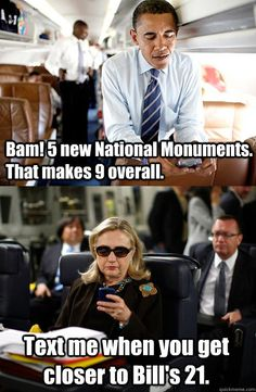 bam 5 new national monuments that makes 9 overall text me - Texts From Hillary