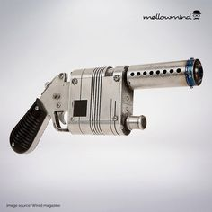 Star Wars The Force Awakens Rey's blaster blueprint 1:1 scale