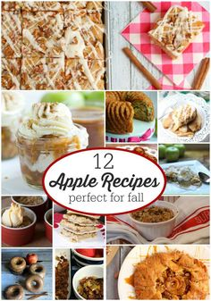 12 Apple Recipes per