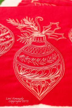 Tutorial Christmas Ornament Project Lori Kennedy, The Inbox Jaunt