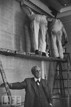 Frank LLoyd Wright en la obra