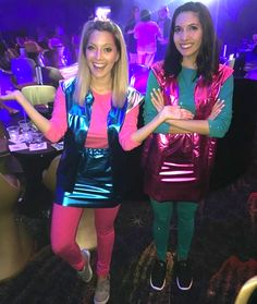 Zenon: Girl of the 21st Century | 31 Two-Person Halloween Costumes That Are Borderline Genius