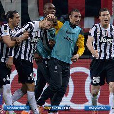 Fernando Llorente in gol contro il Milan