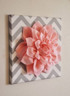 Wall art! (not chevron though, some day that's gonna go out of style... Maybe lace?)