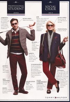 Tommy Hilfiger Fall 2013 Preppy Handbook University Typology