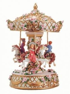 80 Best Carrousel Music Boxes Amp Globes Images Carousel