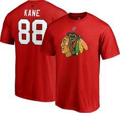 d40c5dc35a8 NHL Men s Chicago Blackhawks Patrick Kane  88 Red Player T-Shirt
