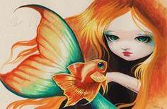 Art: Fancy Goldfish by Artist Nico Niemi