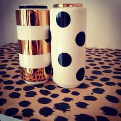 Kate Spade Salt and Pepper Shackers Melting Pot, Welcome Mats, Salt And Pepper, Sweet Home, Kate Spade, Fresh, Dishes, Mugs, Dining