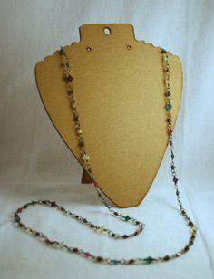 Essential Necklace - Swavorski Crystals on Etsy, $50.00