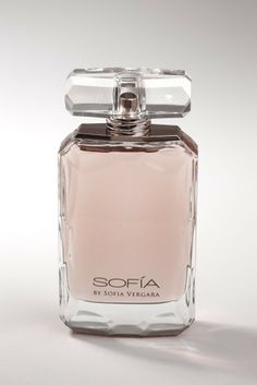 Sofia Vergara's first scent. [Photo by John Aquino]