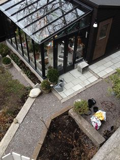 Outdoor patio terrace and patio terraced house. Find ideas and inspiration for Terraced Patio to add to your own home. Terraced Patio Ideas, Terraced House, House Extension Design, Glass Room, Marquise, Terrace Garden, Glass House, Outdoor Projects, Outdoor Rooms