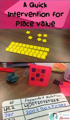 Do your students need more work with place value?  Check out this quick and easy intervention to get them on the right path.