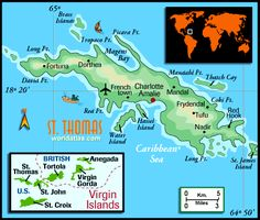 St. Thomas Map
