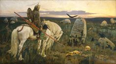 The Knight at the Crossroads - Viktor Vasnetsov.