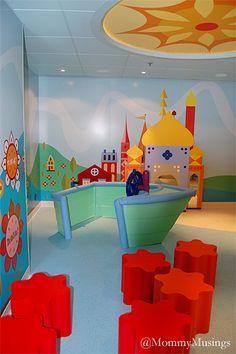 Disney Dream - It's A Small World Nursery -- Inspired by Mary Blair design