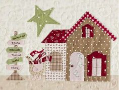 Mistletoe Lane Quilt - by Bunny Hill Designs - Quilt PatternSECONDARY_SECTION$59.95: Fabric Patch: Patchwork Quilting fabrics, Moda fabric, Quilt Supplies,�Patterns