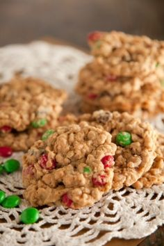 Paula Deen's Monster Cookies- possibly the best cookie ever! And this makes around 6 dozen cookies, which is great for parties or gifts!