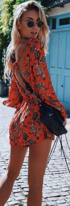 #prefall #muraboutique #outfitideas | Floral Playsuit