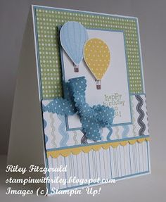 Stampin' with Riley: up up and away