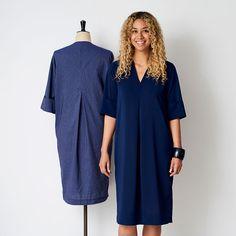 The V-necked Shift Dress