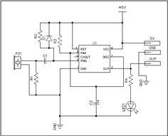 Piezo Trigger Switch Circuit