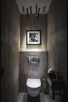 Mansion on the Coast Hoek van Holland by Studio Sluijzer Bathroom Design Luxury, Modern Bathroom Design, Home Interior Design, Modern Toilet Design, Toilet Restaurant, Restaurant Bathroom, Small Toilet Room, Small Bathroom, Bathrooms