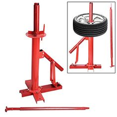 Tire Changer With Tire Iron Fully Portable Manual Operation Red Powder-Coated High Grade Steel From Automotive Shop Equipment Unknown http://www.amazon.com/dp/B00OTTEF6S/ref=cm_sw_r_pi_dp_BJFhvb0TPK1V2
