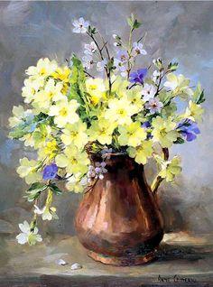 Прелестно-цветочное...Художница Anne Cotterill. Обсуждение на LiveInternet - Российский Сервис Онлайн-Дневников