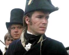 James' D'Arcy as First Lieutenant Tom Pullings in Master and Commander.