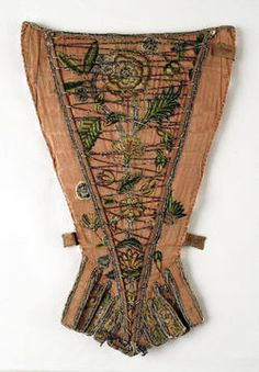 Object Name  Stomacher  Date  ca. 1720