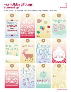 Free Printables for Christmas.