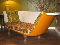 bathtub couch