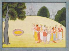 The Gods evoke the Devi, 1780. US public domain via wikimedia