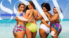 The calendar, shot in Turks and Caicos, is available for free on the shop's website. | Plus-Size Models Awesomely Re-Create Sports Illustrated's Swimsuit Cover