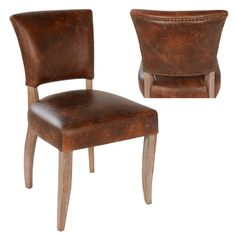 The Ashley side chair in brown leather is the perfect fit for anyone looking for comfort and a luxurious design. The chair originally had inspiration from the classic French dining chairs from the 1940s. The chair has a comfortable padded seat and a flared back to it. Featuring solid oak legs that visually complete the chair, it also has a-grade leather upholstery to provide excellent comfort. The materials used are only from high quality sources to ensure that the chair is built to last for…