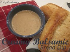 The BEST Creamy Balsamic Bread Dip.. I must warn you, this stuff is beyond addicting. Perfect for a holiday gathering, and so easy to make!
