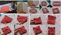 Bolso con cuadrados - 48-5