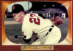 1955 Bowman Herb Score card that never was.