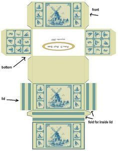 All about dollhouses and miniatures: Printables box