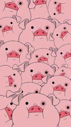 Waddles from Gravity Falls Pig Wallpaper, Disney Phone Wallpaper, Cartoon Wallpaper Iphone, Iphone Background Wallpaper, Tumblr Wallpaper, Cellphone Wallpaper, Cute Cartoon Wallpapers, Aesthetic Iphone Wallpaper, Wallpaper For Your Phone