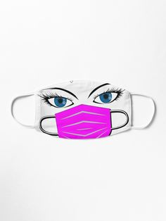 'Happy Quarantined Birthday - Covid 19 - Best gifts for 2020 survivors - Oh shit! Pink mask and Blue eyes!' Mask by BestStuffDepot Best Gifts, Unique Gifts, Crazy Outfits, Dress Clothes For Women, Things To Buy, Stuff To Buy, Make A Donation, Mask Design, Amazing Things