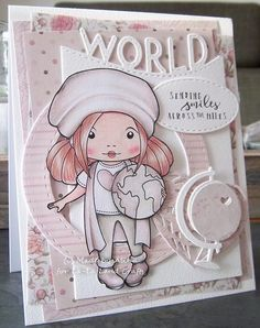 From our Design Team!  Card by Alina created with the December Club La-La Land Crafts Kit.