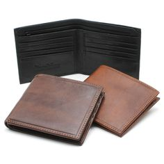 The Napoli Wallet, beautifully hand made in Italy from genuine Italian bull leather, allows for storage of 8 credit cards, money, receipts and more. The zippered pocket gives you extra safe and secure space to keep your essentials.