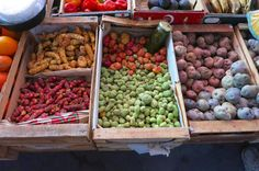Papas Andinas at Tilcara farmers market in the North of Argentina