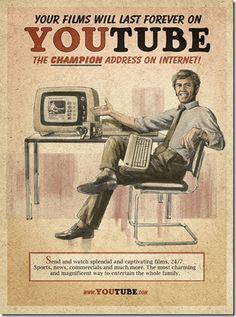 YOUTUBE: La agencia MOMA en Sao Paulo BR, creó anuncios al estilo de los diseños de años 50, para las redes sociales actuales.