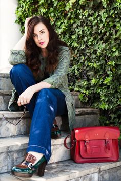 """Mademoiselle Robot: What I Wore - MiH Jeans """"The Milan"""" (Part 2)"""